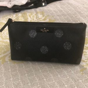NWT Kate spade make up toiletry pouch